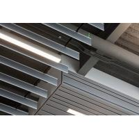 China Vertical  Linear Screen Ceilings , Sound Dampening Baffle False Ceiling 0.55 ~ 0.90mm Thick factory