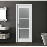 Buy cheap Chinese Style luxury Interior Panel frosted glass interior door from Wholesalers