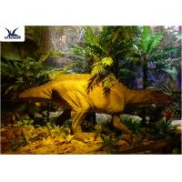 Buy cheap Garden Animal Statues For Dinosaur Statue Park , Velociraptor Lawn Ornament  from Wholesalers