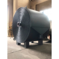 China Withstand Voltage 0.6Mpa 200m² Non-Detachable Spiral Plate Heat Exchanger Carbon Steel Material factory