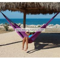 Buy cheap Luxury  Durable Family Hand Woven Mayan Hammock Handmade Natural Color Purple For 2 from Wholesalers
