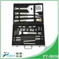 Buy cheap High quality Barbecue accessory Stainless steel BBQ Grill Tool Set in aluminum case from Wholesalers
