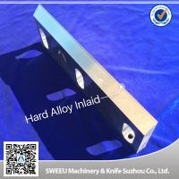 Buy cheap Heat Treatment Plastic Granulator Blades And Knife +-50 Micron Precision from Wholesalers