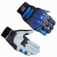 Buy cheap Protective Motorcycle Gloves, Wear-proof Breathable Fabric from Wholesalers