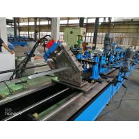 Buy cheap 60m/min CU  C Z Purlin Roll Forming Machine for Gear Box driving fly cutting from Wholesalers