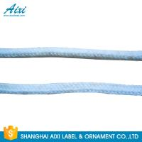 China Black / Gray / Yellow Dyeing / Woven Belt Cotton Tape For Bag factory