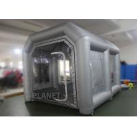 China Eco - Friendly Small Mobile Inflatable Spray Booth Easy To Install CE UL EN14960 factory