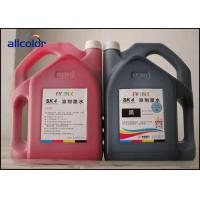 China Six Colors Seiko Solvent Ink , Infinity / Challenger SK4 Solvent Ink factory