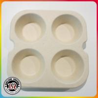 China Biodegradable Bagasse Muffin Tray on sale
