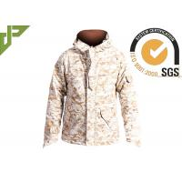 Buy cheap Men's Desert Military Tactical Jackets For Outside Hunting Lamination Treatment from Wholesalers