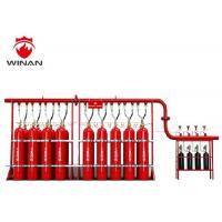 China Automated FM 200 Fire Suppression System Red Hfc 227ea Fire Extinguisher on sale