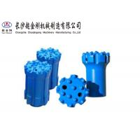 China Gold Color Thread Button Bit ISO Approved For Geotechnical Borehole Drilling factory