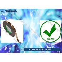 Buy cheap C11000 copper tape conductive for single Electric shielding from Wholesalers