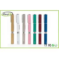 Buy cheap Colorful Pen Style Ego W Electronic Cigarette With 2ml Cartomizer Wax Vaporizer from Wholesalers