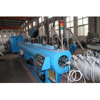 China Cold Hot Water Pipe Extrusion PPR Pipe Production Line For 20-63mm Range on sale