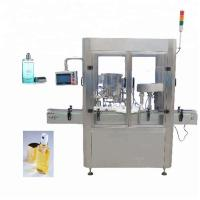 China Screw Capping Type Perfume Filling Machine 20ml - 200ml Filling Quantity factory