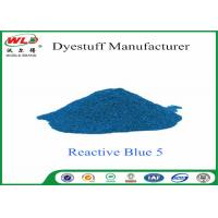Buy cheap High Purity Textile Reactive Dyes Reactive Brill Blue K-GR C I Reactive Blue 5 from Wholesalers