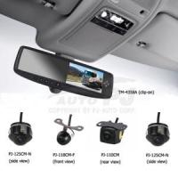 """Buy cheap 5-Way Input 4.3"""" Universal Clip-on Mirror Camera System (PJ-4358A-RS) from Wholesalers"""