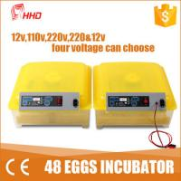 Buy cheap 1 Year warranty CE passes Automatic egg turning  48 chicken egg 24 turkey mini egg incubator   for sale YZ8-48 from Wholesalers