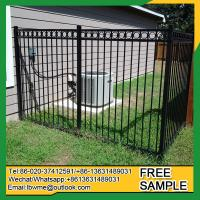 China Fence factory Lot pictures iron fences Tampa wrought iron fencing on sale