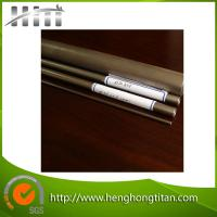 China HHT ASTM B338 Gr2 Seamless Titanium Pipes/Tubes for Industrial on sale