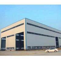 Buy cheap GB Hot Rolled Steel Prefabricated Steel Structure Metal Storage Shed from wholesalers
