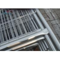 China Removable Builders Temporary Fencing Panel 50 X 200mm Mesh Size 1.8x2.1 Meter on sale