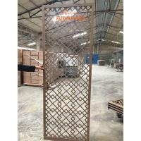 Buy cheap High End Customized Hotel Room Divider , Wooden Room Screen Asia Style from Wholesalers