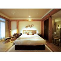 Quality 5 Star Hotel Quality Furniture Wooden Frame , Contemporary King Bedroom Sets wholesale