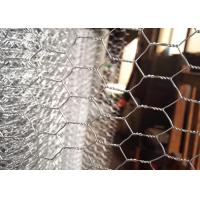 China 1.3 Mm Galvanized Chicken Wire Mesh PVC Coated Chicken Fence Wire 30m Roll Length on sale