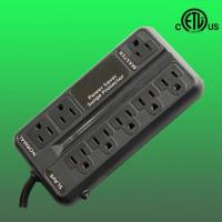 China US 8 outlet ETL listed energy saving surge protector factory