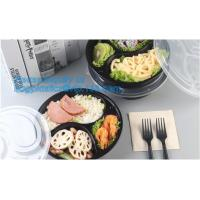 China Food Grade Plastic Sushi Tray Set Full Printed Sushi Trays With Lids Customize Available,disposable packing plastic food on sale