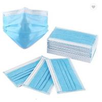China 3Ply Surgical Face Mask Non Woven Air Anti Virus and Dust disposable Surgical Medical Face Mask , factory