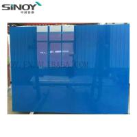China Interior Decoration beautiful Back Painted Glass With Paint factory