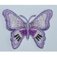 China chenille patch butterfly embroidery NO.9002 factory