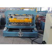 Buy cheap Anti Rust Roller Metrocopo Steel Roof Tile Roll Forming Machine with CE from Wholesalers