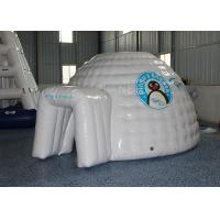 China Mini Inflatable Igloo Tent / Blow Up Igloo Tent Playhouse For Rental factory