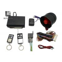 China Blazer One Way Car Security System , High End Car Alarm System With Remote Start factory