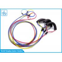 China Outdoors Walking Dog Pet Tie Out Cable Rubber Coated Traction Wire Rope factory
