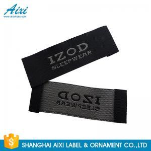 China Satin Silk Printing Garment Clothing Label Tags Woven Customize Design factory