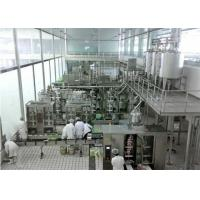 Buy cheap Automatic  Soft Drinks Production Line With 3000L / H Caraboneted drinks Mixer from Wholesalers