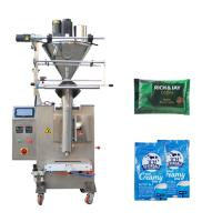 China Auger Filler Powder Packing Machine Color Touch Screen Control Panel Available factory