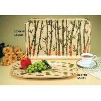 China China Bamboo Serving Tray for Tea/Restaurant/Tableware/Kitchenware/Kitchen Implement on sale