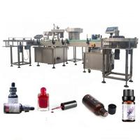 China 3 KW Essential Oil Bottle Filling Machine With Suction Anti Drip Device factory