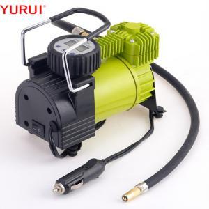 China Heavy Duty Single Cyclinder 144W 140PSI 12v Car Tyre Pump factory
