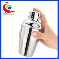 Buy cheap Lightweight Coffee Shop Equipment Custom Stainless Steel Cocktail Shaker from Wholesalers