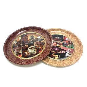 China premium round serving tin trays factory