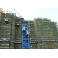 Buy cheap Rack Pinion 450 M Construction Material Lifting Hoist from wholesalers