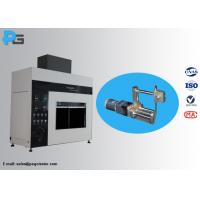 Buy cheap 45 Degree Tilted Needle Flame Test Apparatus Fire Hazard Protection Testing Equipment IEC60695 from Wholesalers