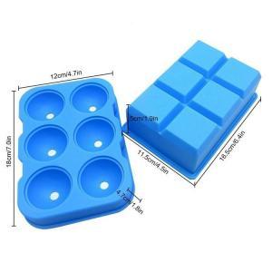 Factory wholesale silicone Ice Tray Cake mold Custom Brain ice cube tray sset mold size shape